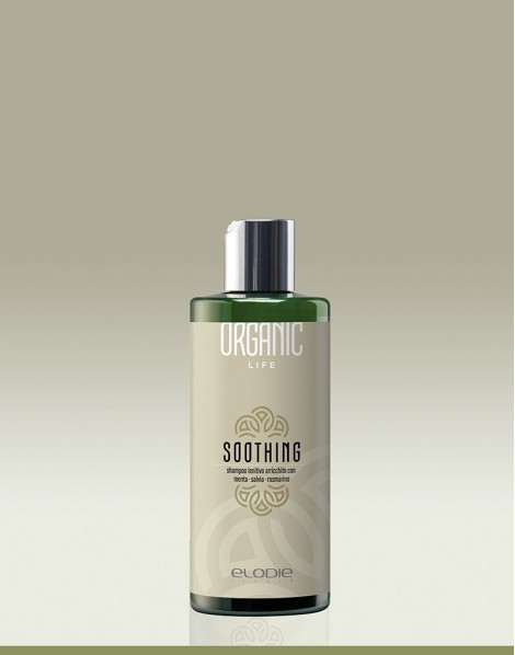 SOOTHING shampoo lenitivo arricchito con  menta salvia rosmarino