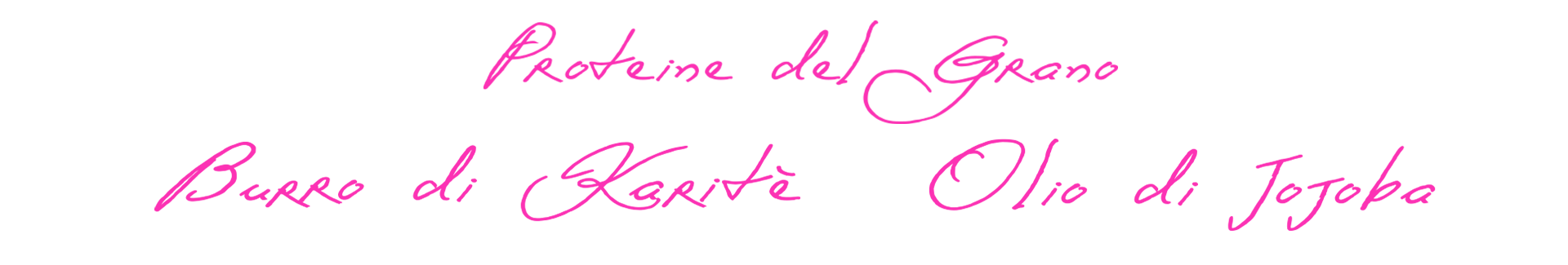 proteine del grano burro di karitè olio di jojoba - logo